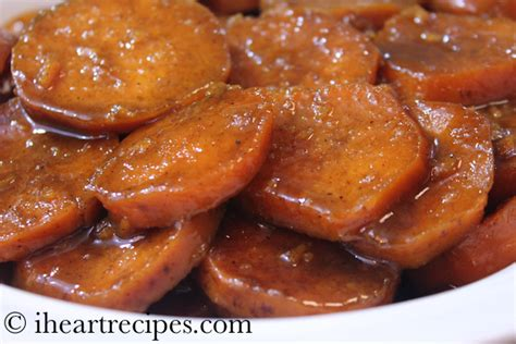 how to make yam baked candied yams soul food style i heart recipes