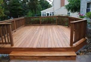 free standing deck framing plans home design ideas
