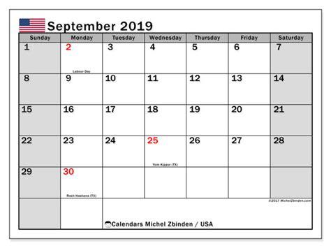 september  calendar usa michel zbinden en