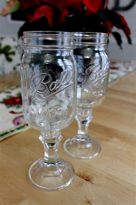 intriguing ways    mason jar wine glass guide