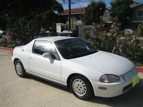 1993 Honda Sol S by Buy Used 1993 Honda Civic Sol S Coupe 2 Door 1 5l Crx