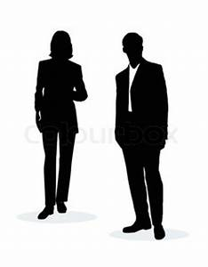 Business man shaking hands isolated on white   Vector ...