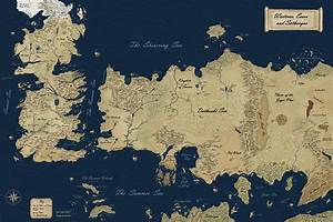 New Official Westeros Map by gunnar-santos on DeviantArt