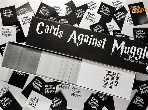 Similar to the cards against humanity game, it includes a lot of nswf topics but with a harry potter twist. Harry Potter Game - Cards Against Muggles | Heroes & Villains Showcase