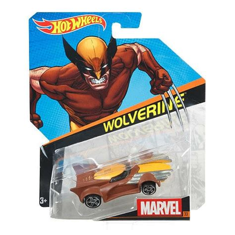 Hot Wheels Marvel Character Car 164 Scale Diecast