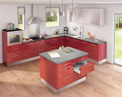ilot cuisine image gallery modele de cuisine