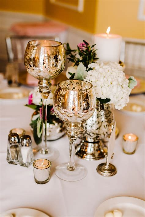 Mercury Vases Wedding - how to use mercury glass in your wedding arabia weddings