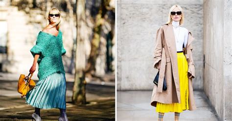 pleated skirt outfits   style