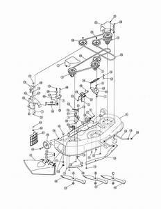 Deck Diagram  U0026 Parts List For Model 13at605h718 Mtd