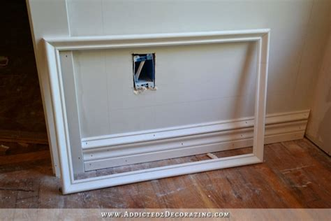 Wainscoting Frames For Wall by How To Install Picture Frame Moulding The Easiest