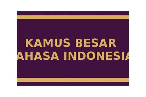 baixar software kamus besar bahasa indonesia android