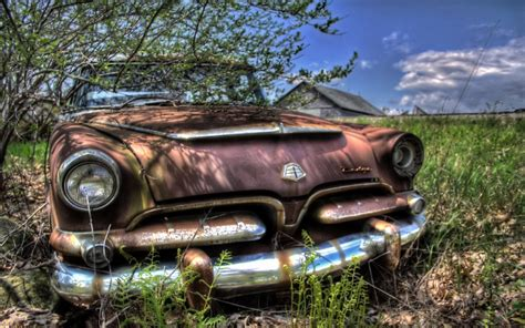 Old Abandoned Car Wallpapers And Images Wallpapers