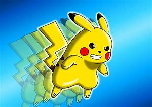 Pokemon Pikachu Quick Attack Images | Pokemon Images