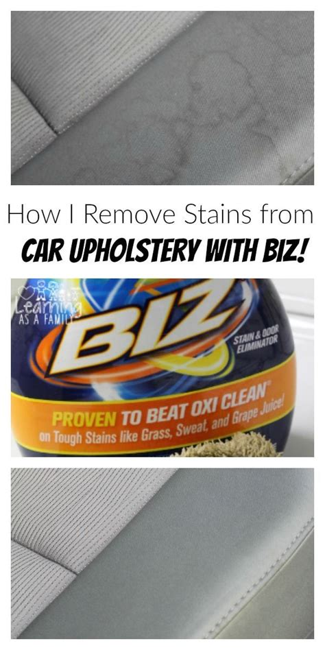 Best Car Upholstery Stain Remover by 1000 Images About Cleaning Tips On Stains