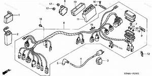 Honda Atv 2003 Oem Parts Diagram For Wire Harness  Trx350te  Fe