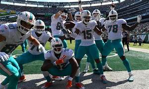 What Was Behind Dolphins WR Albert Wilsons TD Celebration