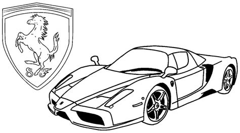 Kleurplaat Lamborghini Urus by Therapy Coloring Page Italy 13