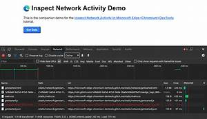 Inspect Network Activity In Microsoft Edge Devtools