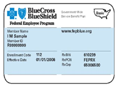 bcbs federal provider phone number federal employee program fep member id cards get makeover