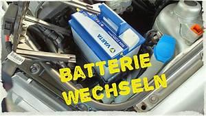 Autobatterie Wechseln Anleitung : autobatterie wechseln youtube ~ Watch28wear.com Haus und Dekorationen
