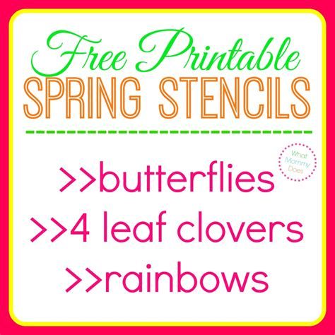 totally not malware template free printable butterfly stencils four leaf clover