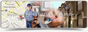 electricien paris 17 0156292929 depannage With depannage serrurerie 75017