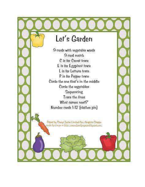 preschool printables garden theme amp gardening 311 | ffa4eb774c3400836ba211cd98b0fbe2