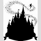 Disney Castle Silhouette With Tinkerbell | 268 x 320 jpeg 14kB