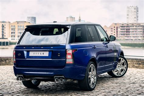 blue land rover range rover 600 le bali blue luxury edition by kahn design