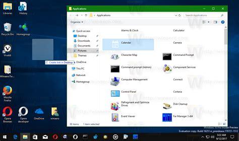 Create Desktop Shortcut For Store App In Windows 10