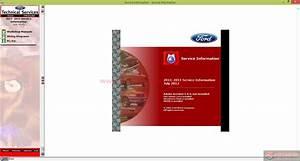Workshop Manual Ford Motor Company Usa 2011
