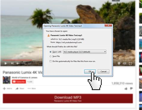 mozilla firefox youtube mp3 downloader addon