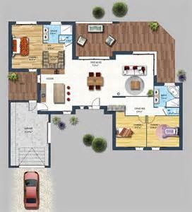 plan maison moderne constructeur maison contemporaine st gilles croix de vie vend 233 e 85 depreux construction