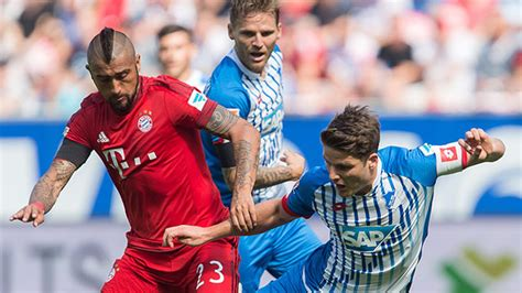 Here are the 10 best goals scored in previous clashes between the bundesliga sides. Hoffenheim - Bayern: FC Bayern siegt in Unterzahl