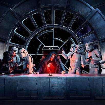 Palpatine Emperor Wars Star Wallpapers Last Supper