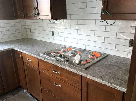 Kitchen Countertops And Backsplash Pictures by St Paul Kitchen Remodel Quartz Countertops Subway