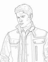 Coloring Supernatural Winchester Printable Dean Castiel Sheets Malbuch Victorious Adult Fan Journal Instant Similar Malvorlagen Colouring Getdrawings Sam Getcolorings übernatürlich sketch template