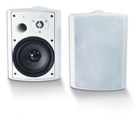 wireless outdoor patio speakers btp 650 wireless bluetooth patio speaker pair