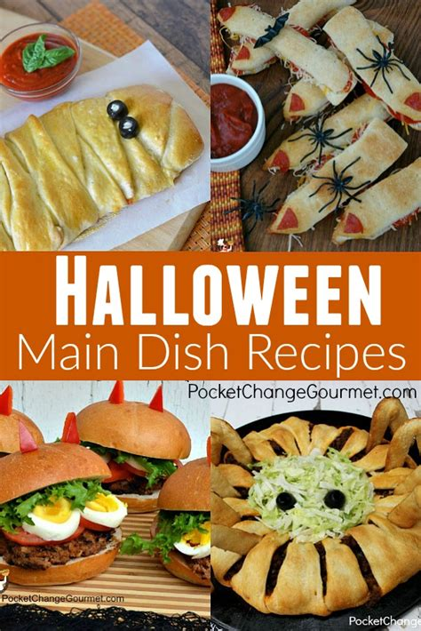 Halloween Party Food Recipes  Pocket Change Gourmet