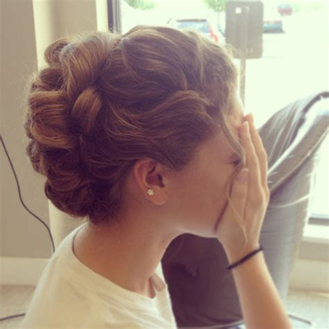 prom hairdo tumblr