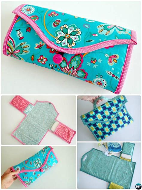 baby change mats baby changing pad travel clutch bag sew pattern