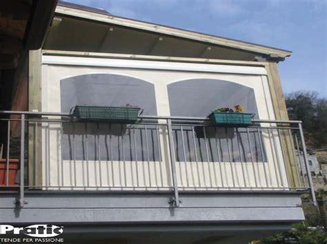 Chiusura Verande E Balconi by Chiusura Balcone Con Vetrate E Tende Antivento E Antipioggia