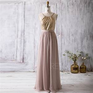 2016 light gold bridesmaid dress spaghetti strap wedding With light gold wedding dress