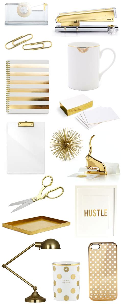 desk sets for her gold office accessories scream quot i am oozing success