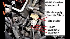 Idle Valves  How To Wire Them  How To Set Up The Aux