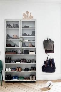 Meuble D Entrée Chaussures : meuble d entr e pour chaussures 13 id es de d coration int rieure french decor ~ Teatrodelosmanantiales.com Idées de Décoration