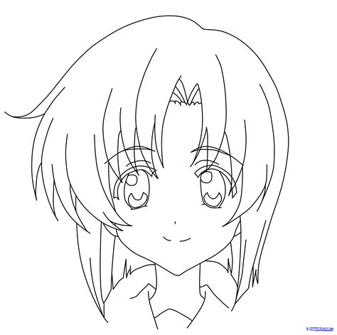 draw rena ryuugu higurashi step  step anime