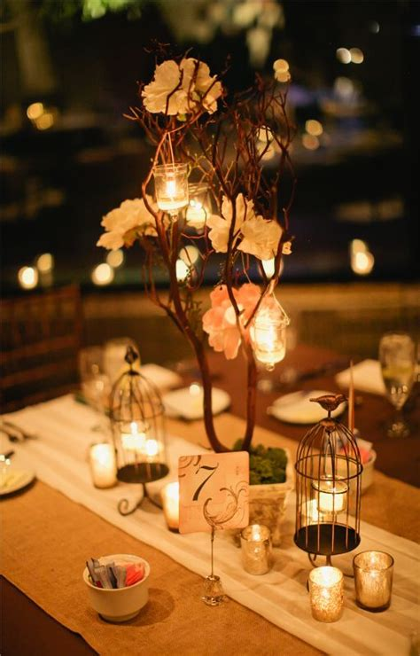 shabby chic wedding centerpieces diy diy romantic earthy rustic shabby chic decor weddingbee photo gallery