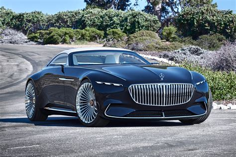 Vision Mercedes-maybach 6 Cabriolet Concept Unveiled