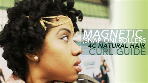 Kitchen Black Hair Term by No Heat Magnetic Roller Set On Hair Blackhairkitchen